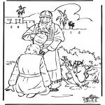 Bibel Ausmalbilder - Salbung David