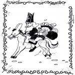 Basteln Stechkarten - Sankt Nikolaus 1