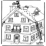 Basteln Stechkarten - Sankt Nikolaus 22
