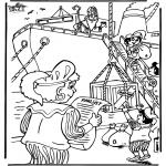 Basteln Stechkarten - Sankt Nikolaus 23