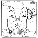 Basteln Stechkarten - Sankt Nikolaus 26