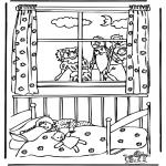Basteln Stechkarten - Sankt Nikolaus 30