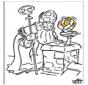 Sankt Nikolaus - Malvorlagen 3