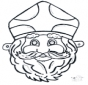 Sankt Nikolaus Maske