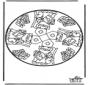Sankt Nikolaus Stechkarte   14