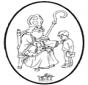 Sankt Nikolaus Stechkarte 7