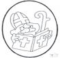 Sankt Nikolaus Stechkarte2