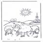 Schafe in der Sonne