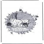 Ausmalbilder Tiere - Schafe