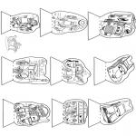 Malvorlagen Basteln - Schaubüchse Cars