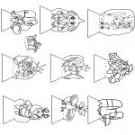 Malvorlagen Basteln - Schaubüchse Pokemon