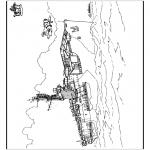 Allerhand Ausmalbilder - Schiff 1