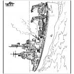 Allerhand Ausmalbilder - Schiff 2