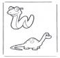 Schlange und Dino