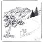 Schnee in Yellowstone 2