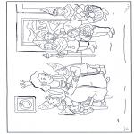 Ausmalbilder Comicfigure - Schneewittchen 14