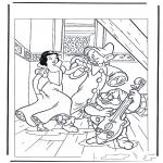 Ausmalbilder Comicfigure - Schneewittchen 6