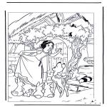 Ausmalbilder Comicfigure - Schneewittchen 8