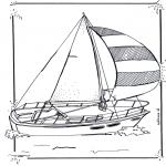 Allerhand Ausmalbilder - Segelboot