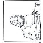Allerhand Ausmalbilder - Sphinx
