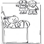 Ausmalbilder für Kinder - Spielzeug Ausmalbild 2