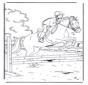 Springen mit Pferd