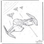 Allerhand Ausmalbilder - Star Wars 11