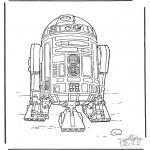 Allerhand Ausmalbilder - Star Wars 3