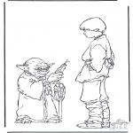 Allerhand Ausmalbilder - Star Wars 7
