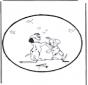 Stechkarte 101 Dalmatiner 3