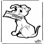 Basteln Stechkarten - Stechkarte 101 Dalmatiner 4