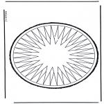 Basteln Stechkarten - Stechkarte 11