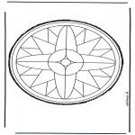 Basteln Stechkarten - Stechkarte 12