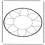 Basteln Stechkarten - Stechkarte 17