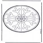 Basteln Stechkarten - Stechkarte 19
