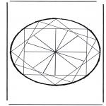 Basteln Stechkarten - Stechkarte 21