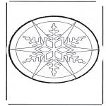 Basteln Stechkarten - Stechkarte  23