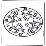 Basteln Stechkarten - Stechkarte 26