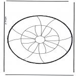 Basteln Stechkarten - Stechkarte 27