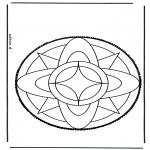 Basteln Stechkarten - Stechkarte  3