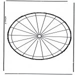 Basteln Stechkarten - Stechkarte 31