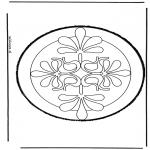 Basteln Stechkarten - Stechkarte 33