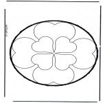 Basteln Stechkarten - Stechkarte 34