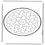 Basteln Stechkarten - Stechkarte  37