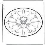 Basteln Stechkarten - Stechkarte 41