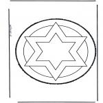 Basteln Stechkarten - Stechkarte 43
