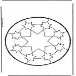 Basteln Stechkarten - Stechkarte 46