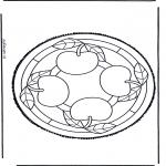 Basteln Stechkarten - Stechkarte 47