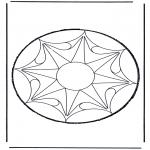 Basteln Stechkarten - Stechkarte 53