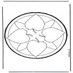 Basteln Stechkarten - Stechkarte 8